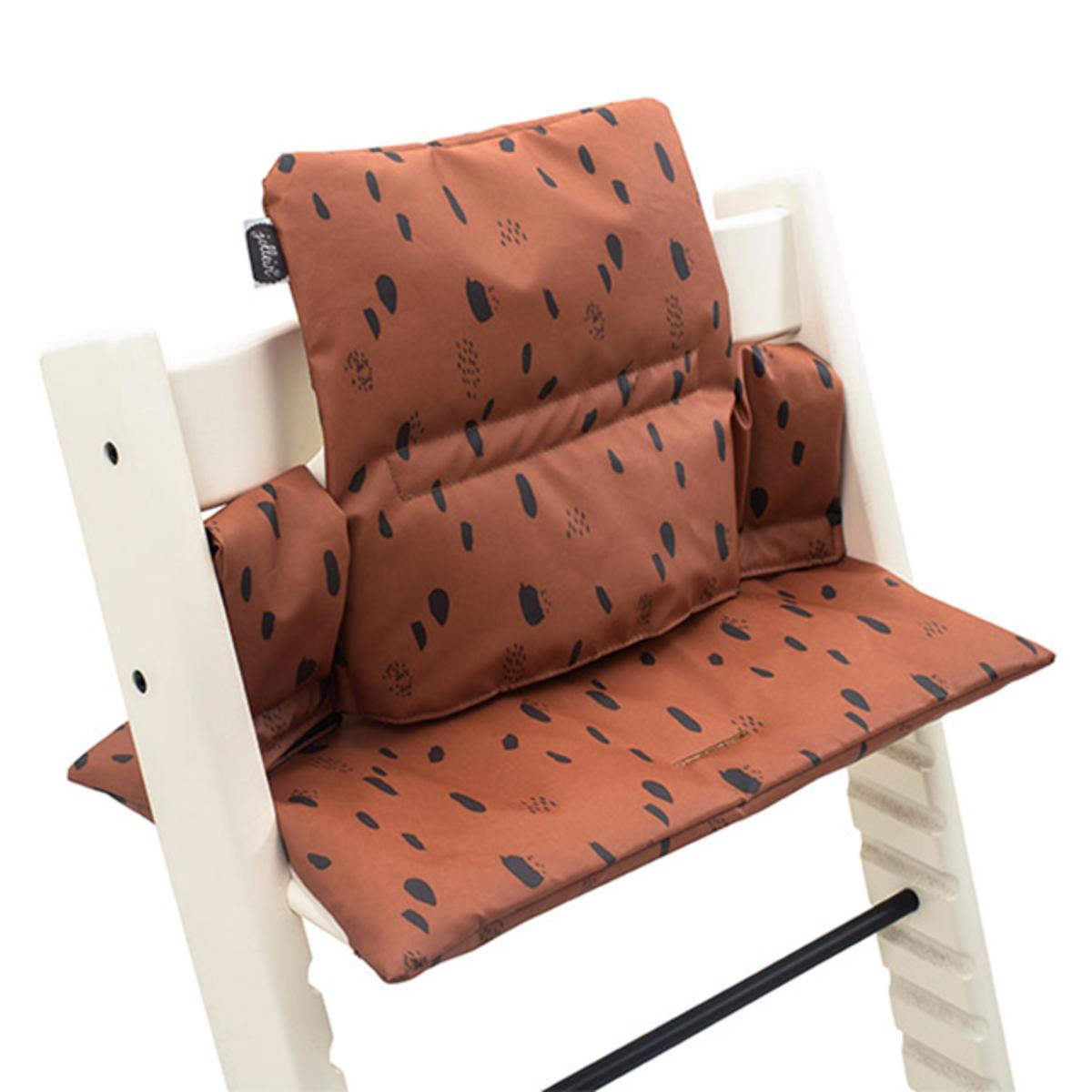 Chaise haute Coussin de Chaise Haute - Spot Caramel Coussin de Chaise Haute - Spot Caramel