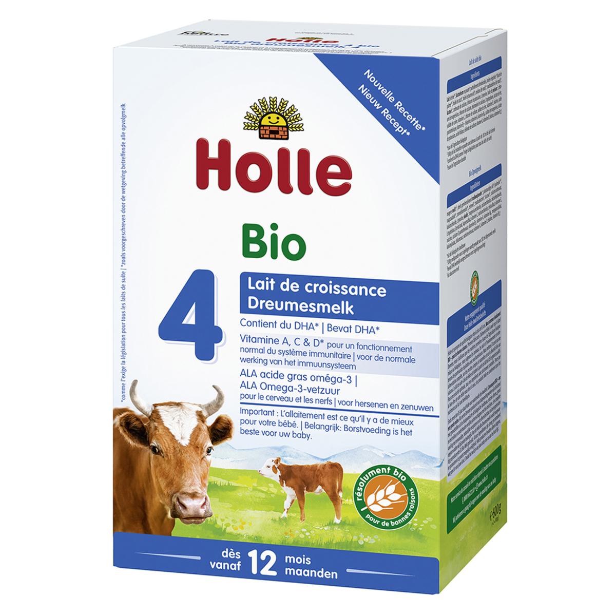 Lait bio Lait de Croissance 4 Bio - 600 g Lait de Croissance 4 Bio - 600 g