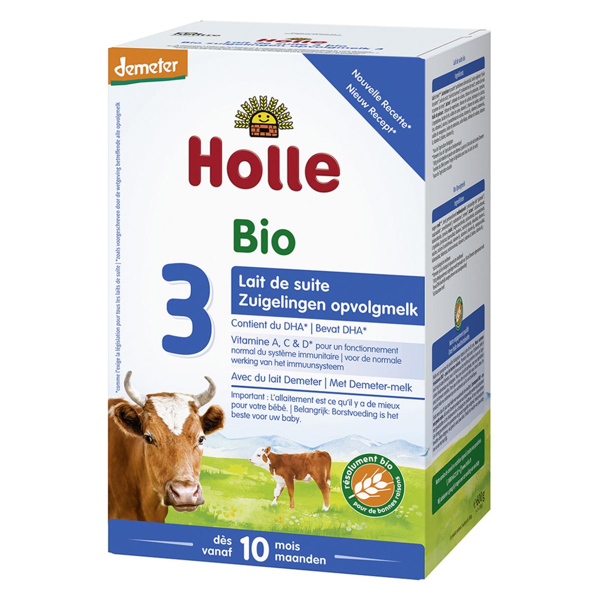 Lait bio Lait de Suite 3 Bio Demeter - 600 g Lait de Suite 3 Bio Demeter - 600 g