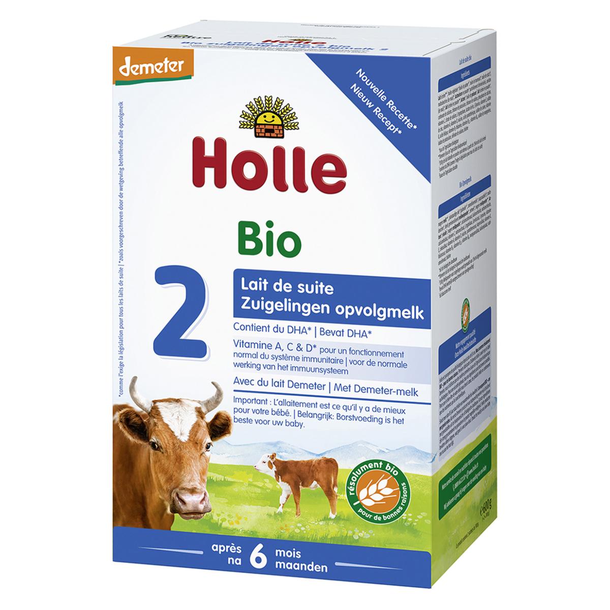 Lait bio Lait de Suite 2 Bio Demeter - 600 g Lait de Suite 2 Bio Demeter - 600 g