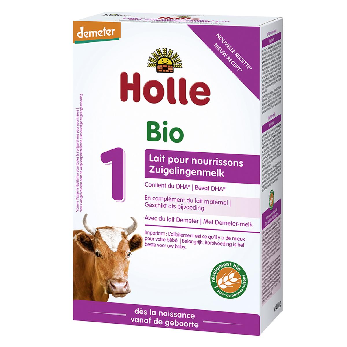 Lait bio Lait pour Nourrissons 1 Bio Demeter - 400 g Lait pour Nourrissons 1 Bio Demeter - 400 g
