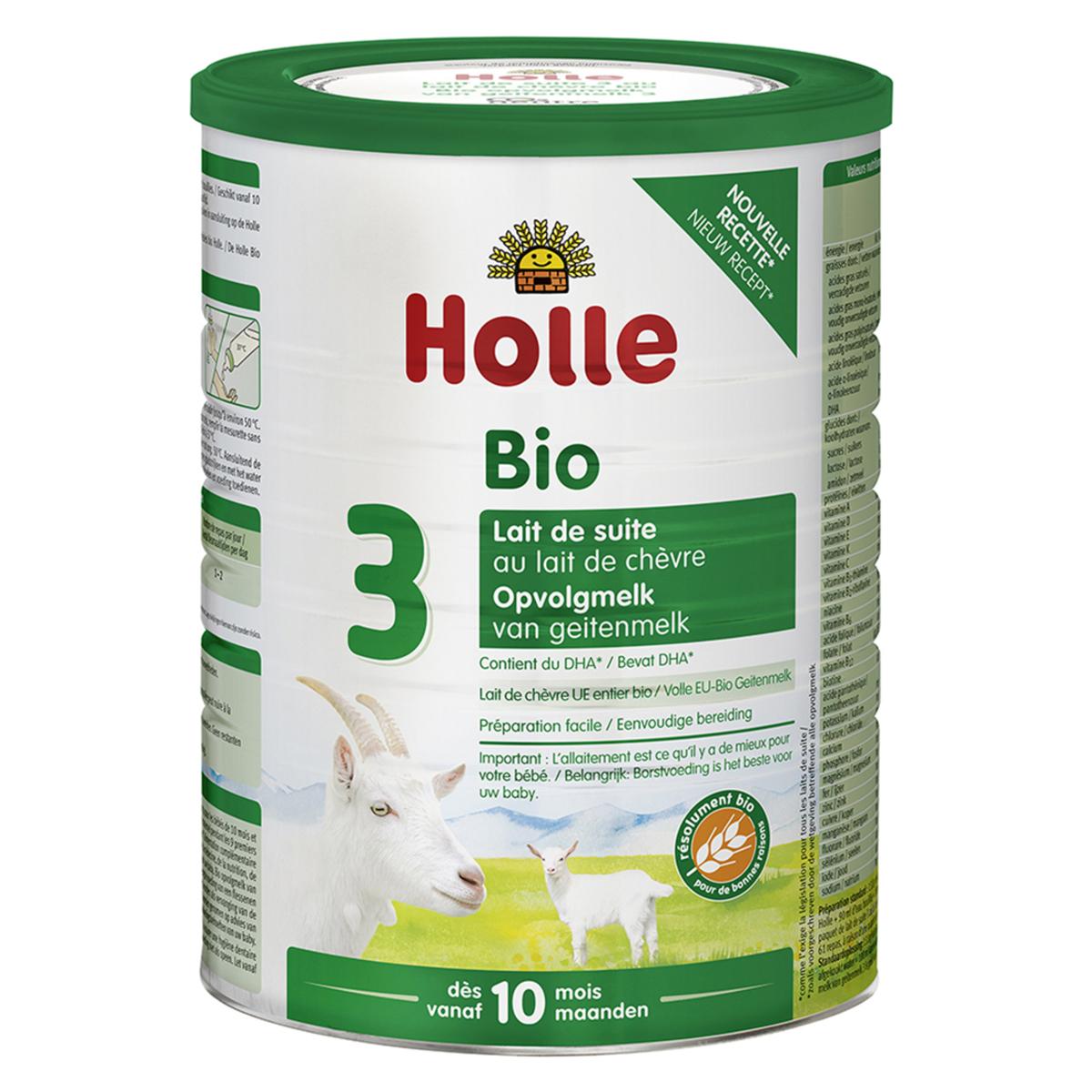 Lait bio Lait de Suite 3 Bio Chèvre - 800 g Lait de Suite 3 Bio Chèvre - 800 g