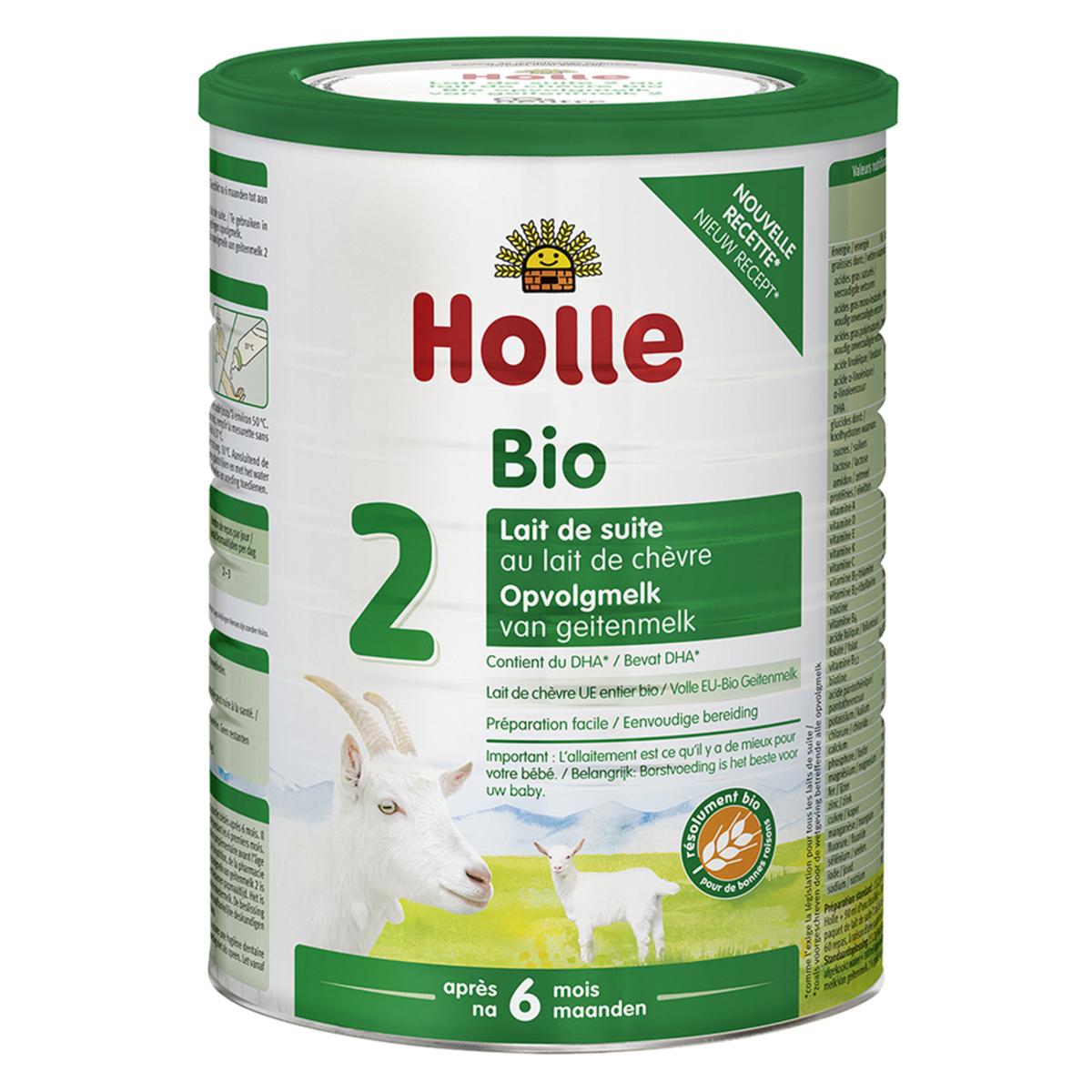 Lait bio Lait de Suite 2 Bio Chèvre - 800 g Lait de Suite 2 Bio Chèvre - 800 g