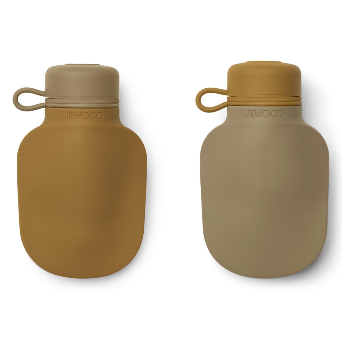 Tasse & Verre Lot de 2 Gourdes de Poche Silvia Golden Caramel Oat Mix - 170 ml Lot de 2 Gourdes de Poche Silvia Golden Caramel Oat Mix - 170 ml
