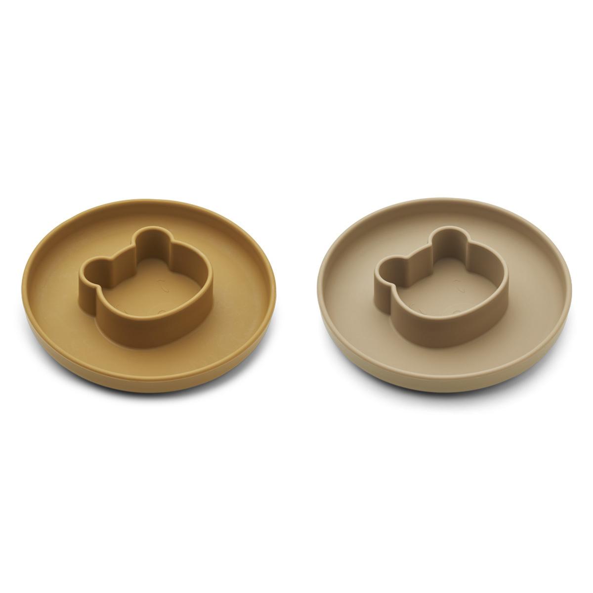 Vaisselle & Couvert Lot de 2 Assiettes Gordon - Mr Bear Golden Caramel Oat Mix Lot de 2 Assiettes Gordon - Mr Bear Golden Caramel Oat Mix