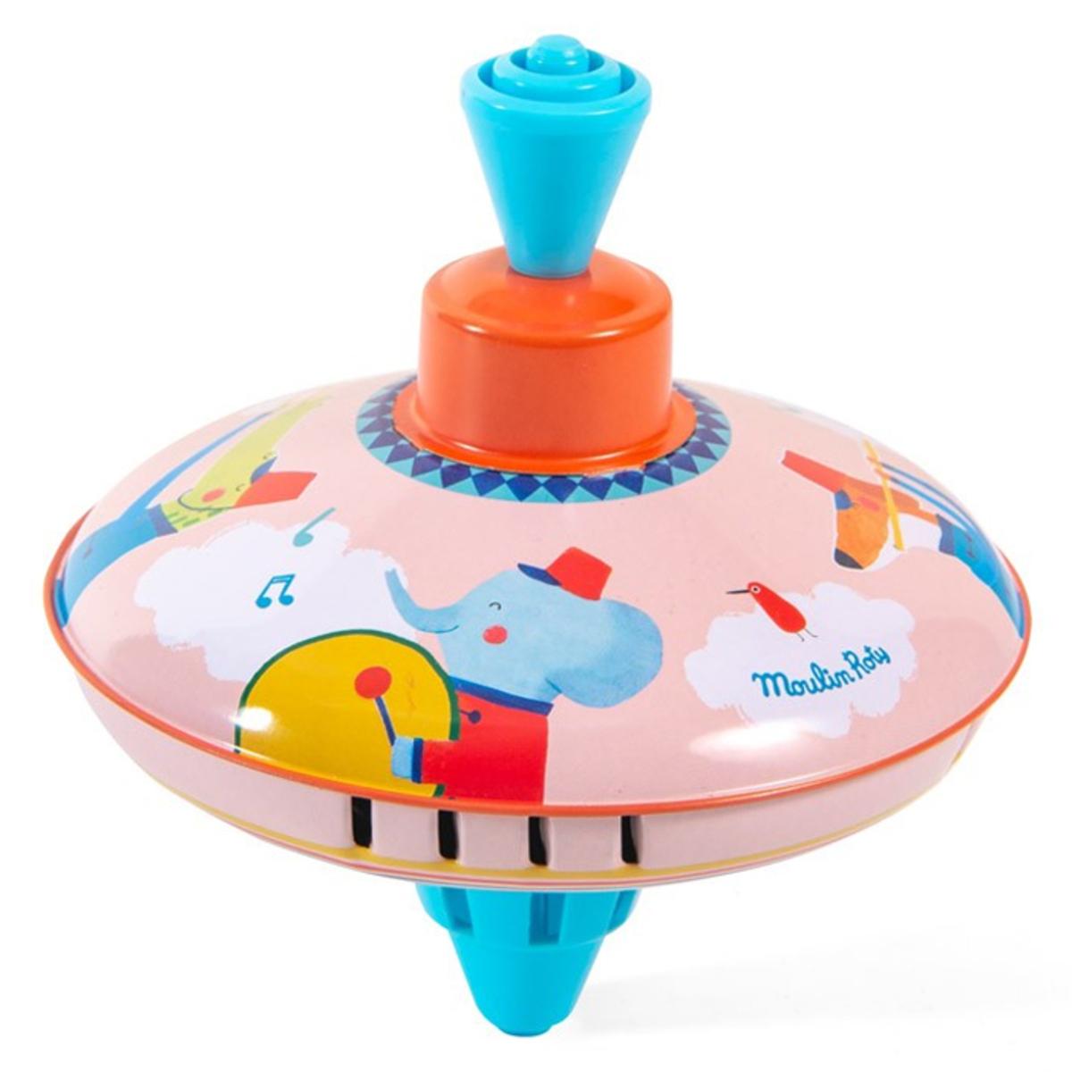 Mes premiers jouets Petite Toupie Fanfare - Les Jouets Métal Petite Toupie Fanfare - Les Jouets Métal