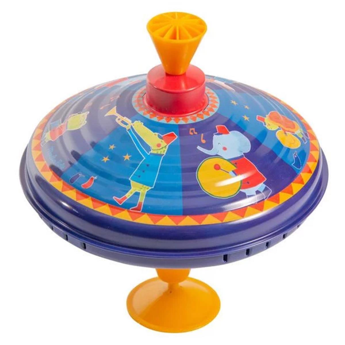 Mes premiers jouets Grande Toupie Fanfare - Les Jouets Métal Grande Toupie Fanfare - Les Jouets Métal