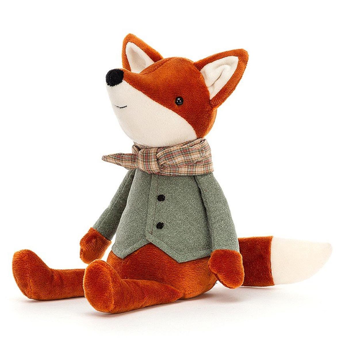 Peluche Riverside Rambler Fox Peluche Renard 33 cm