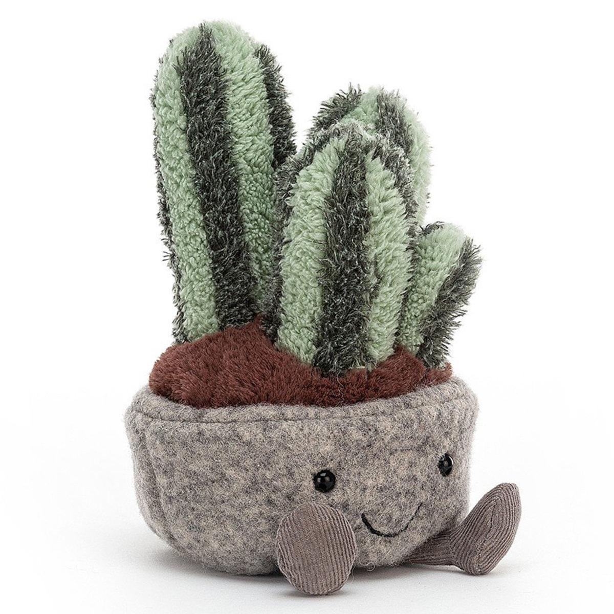 Peluche Silly Succulent Columnar Cactus Peluche Cactus 15 cm