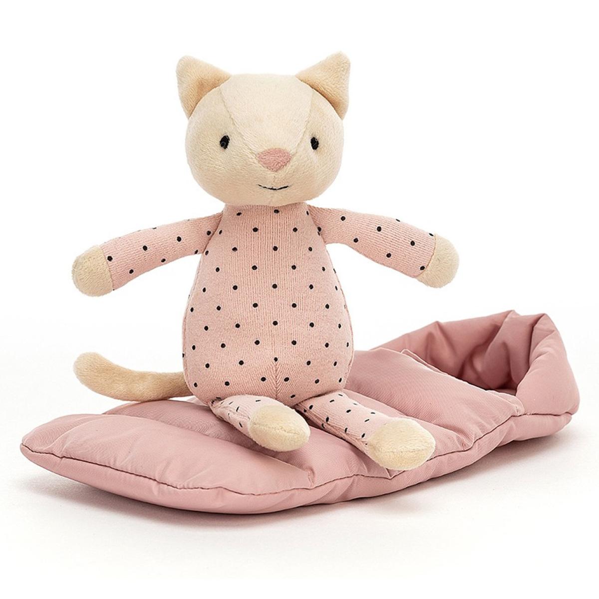 Peluche Snuggler Cat Peluche Chat 23 cm