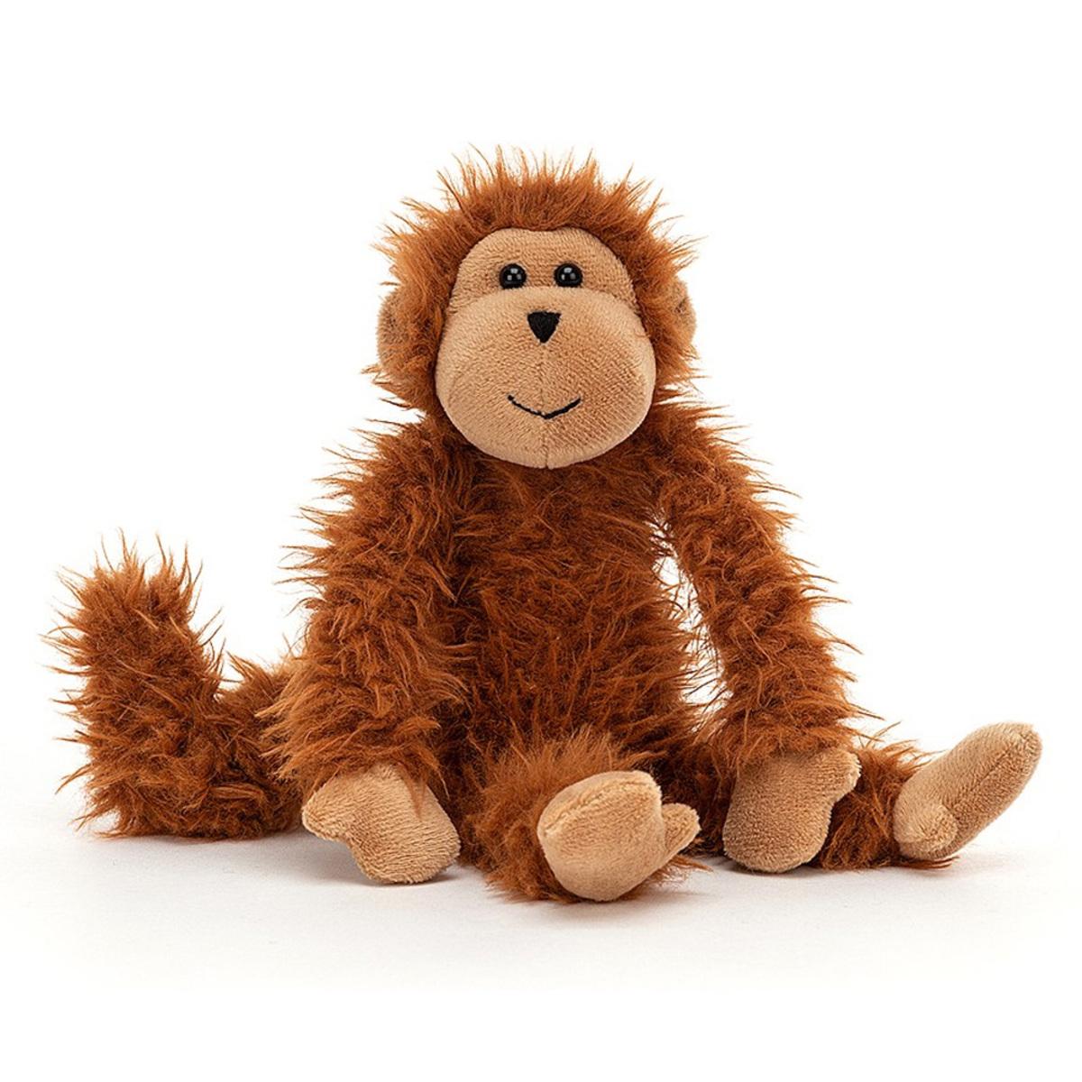 Peluche Bonbon Monkey Peluche Singe 22 cm