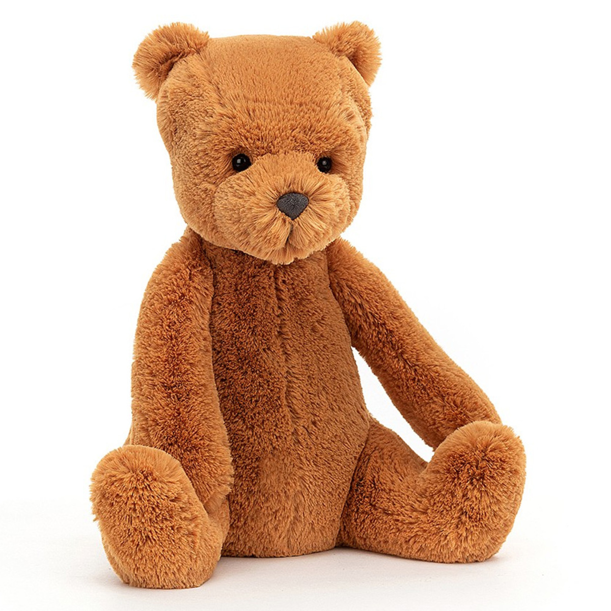 Peluche Ginger Bear - Large Peluche Ours 27 cm