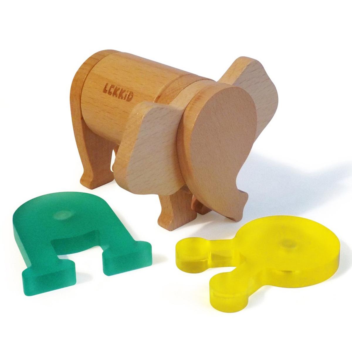 Mes premiers jouets Eléphant Aimanté à Assembler Eléphant Aimanté à Assembler