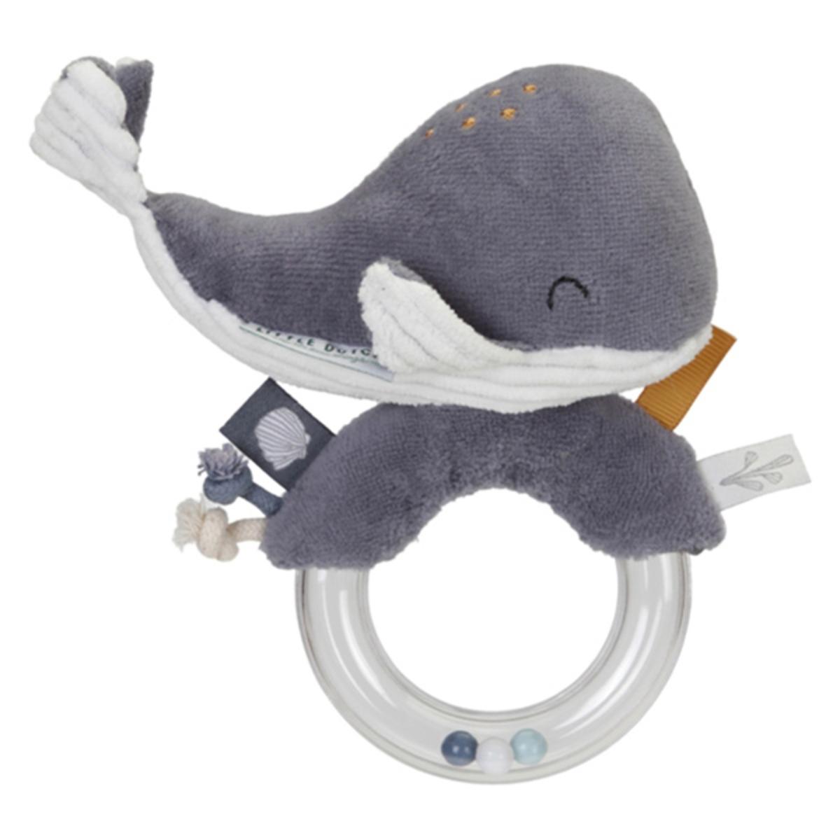 Hochet Hochet Baleine Ocean - Bleu Hochet Baleine Ocean - Bleu