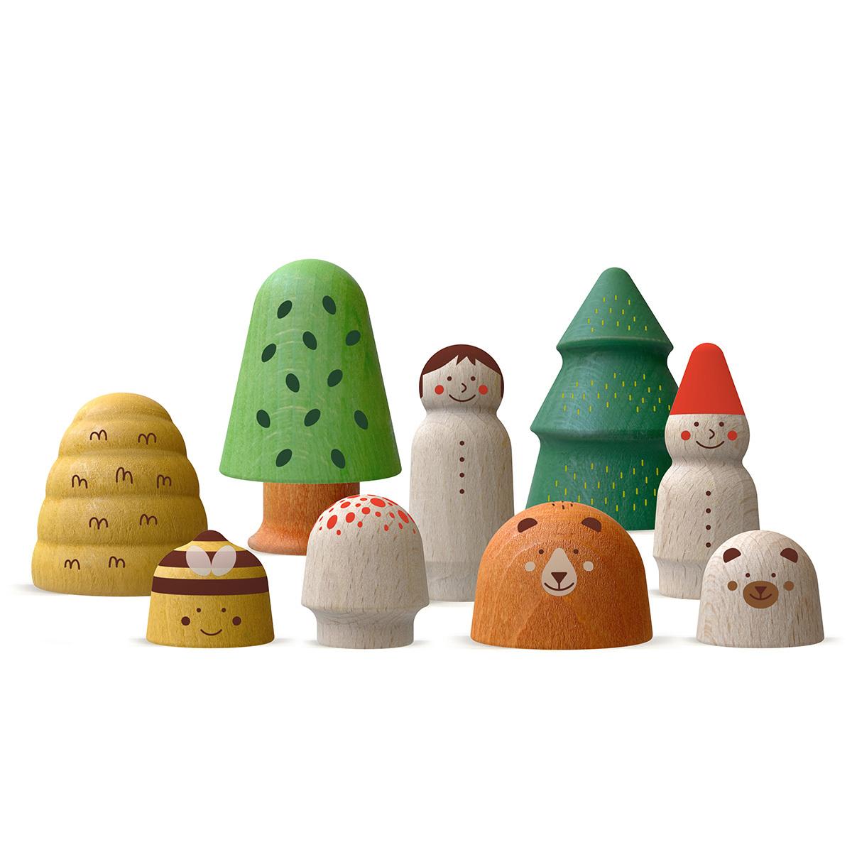 Mes premiers jouets Ma Forêt en Bois Ma Forêt en Bois