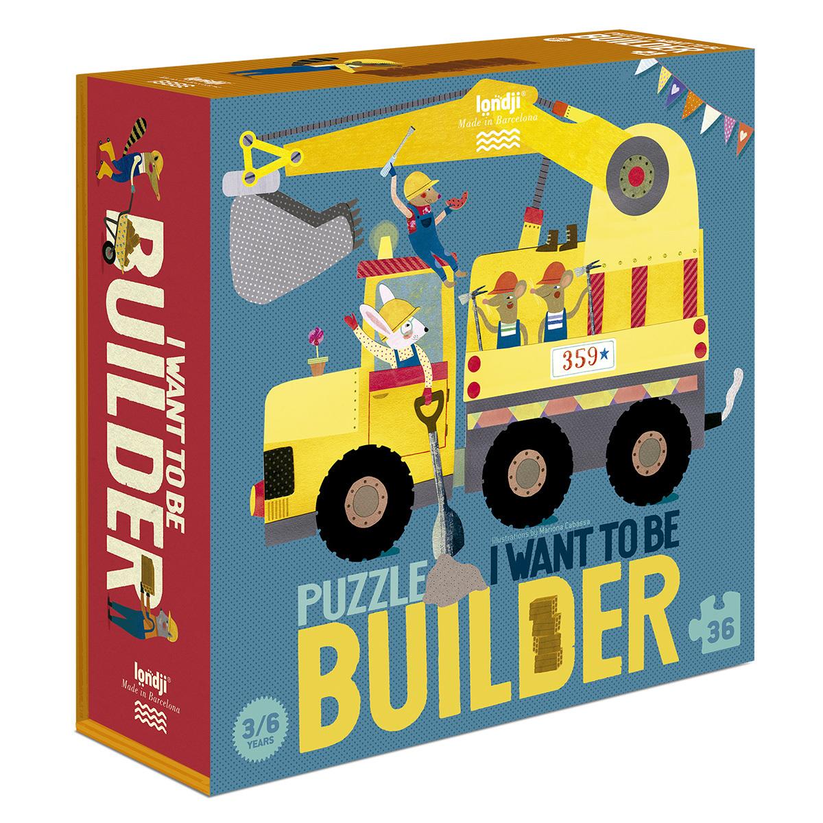 Mes premiers jouets Puzzle Je Veux Être un Constructeur Puzzle Je Veux Être un Constructeur