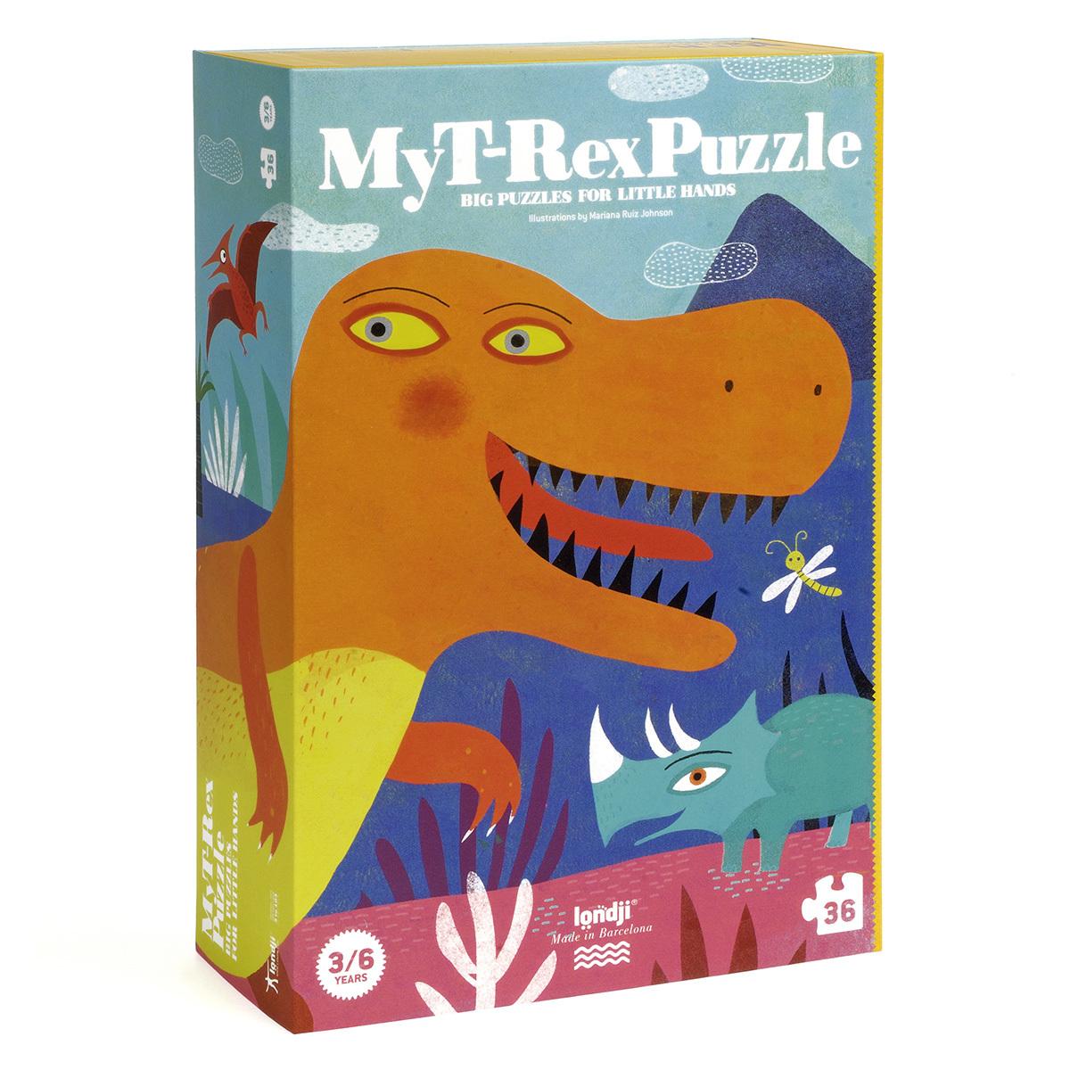 Mes premiers jouets Puzzle Mon T-Rex Puzzle Mon T-Rex