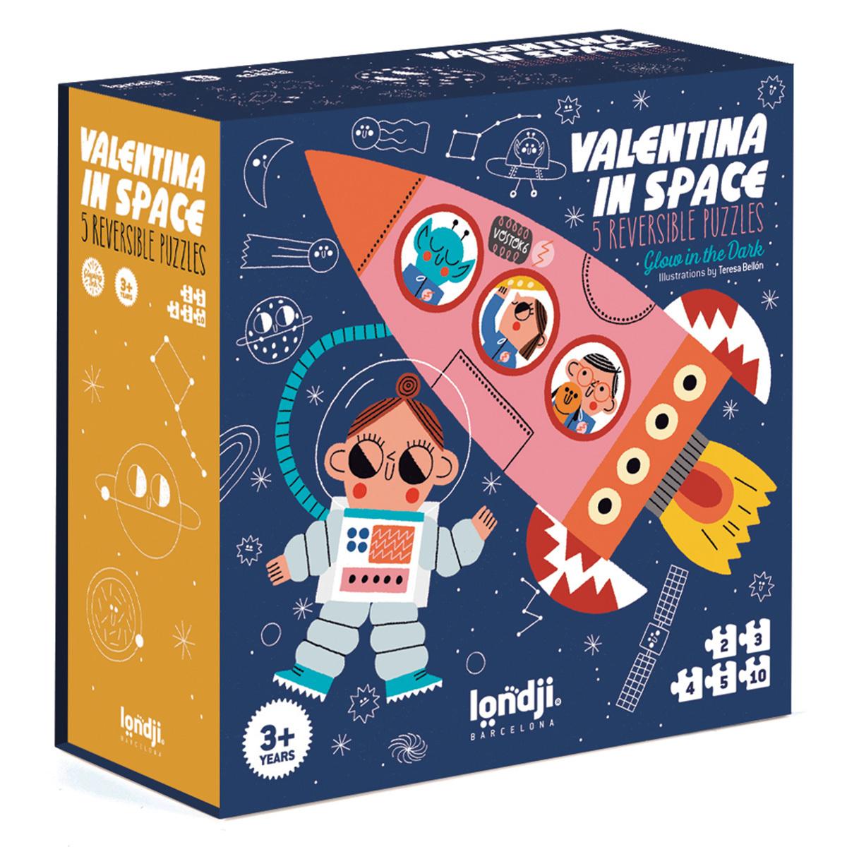 Mes premiers jouets Puzzle Valentina Dans l'Espace Puzzle Valentina Dans l'Espace