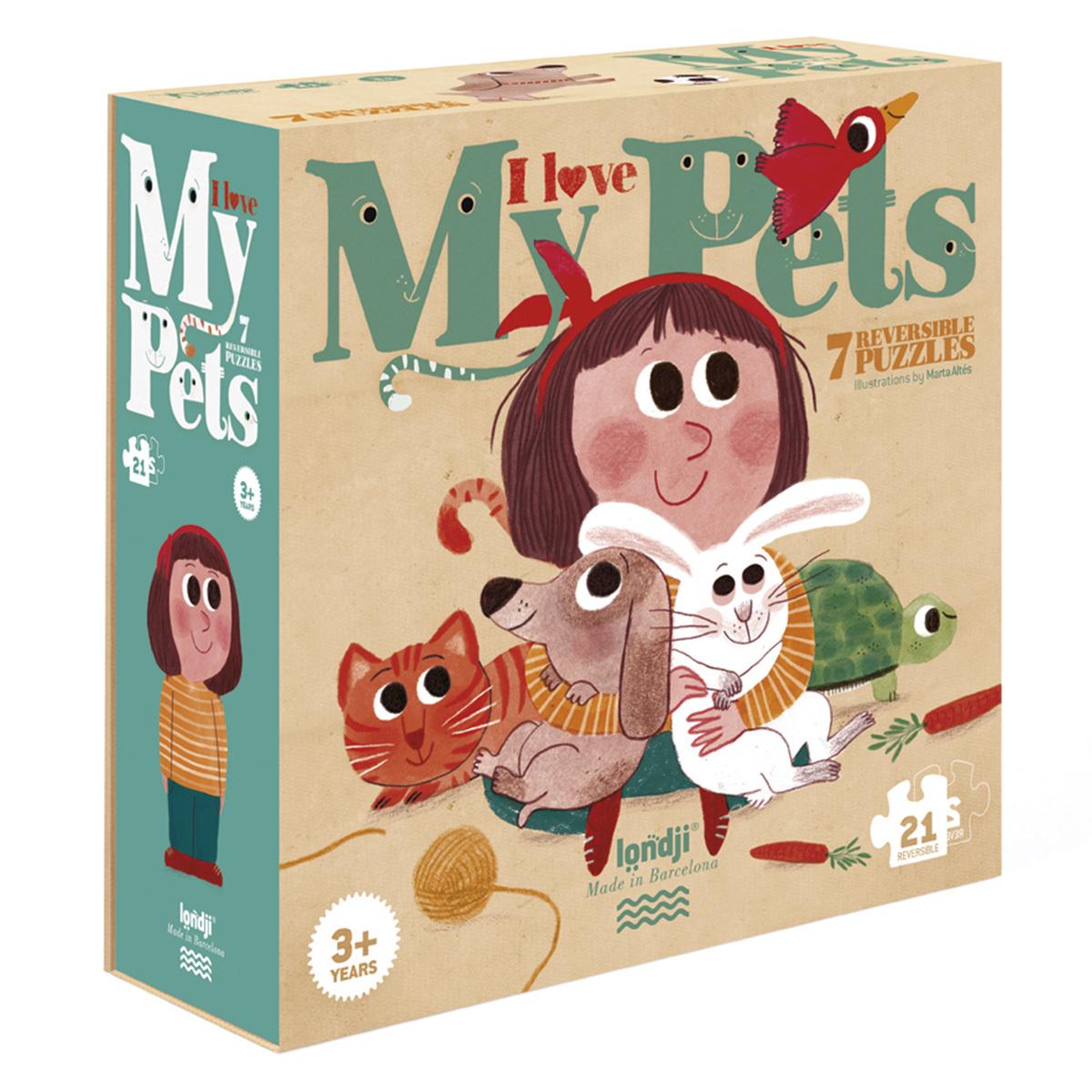 Mes premiers jouets Puzzle J'aime les Animaux Puzzle J'aime les Animaux