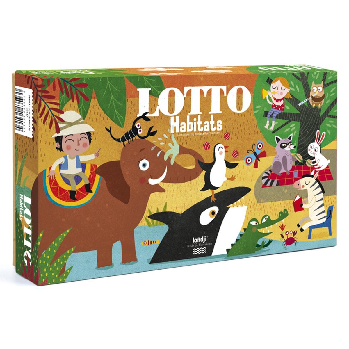 Mes premiers jouets Loto - L'Habitat des Animaux Loto - L'Habitat des Animaux