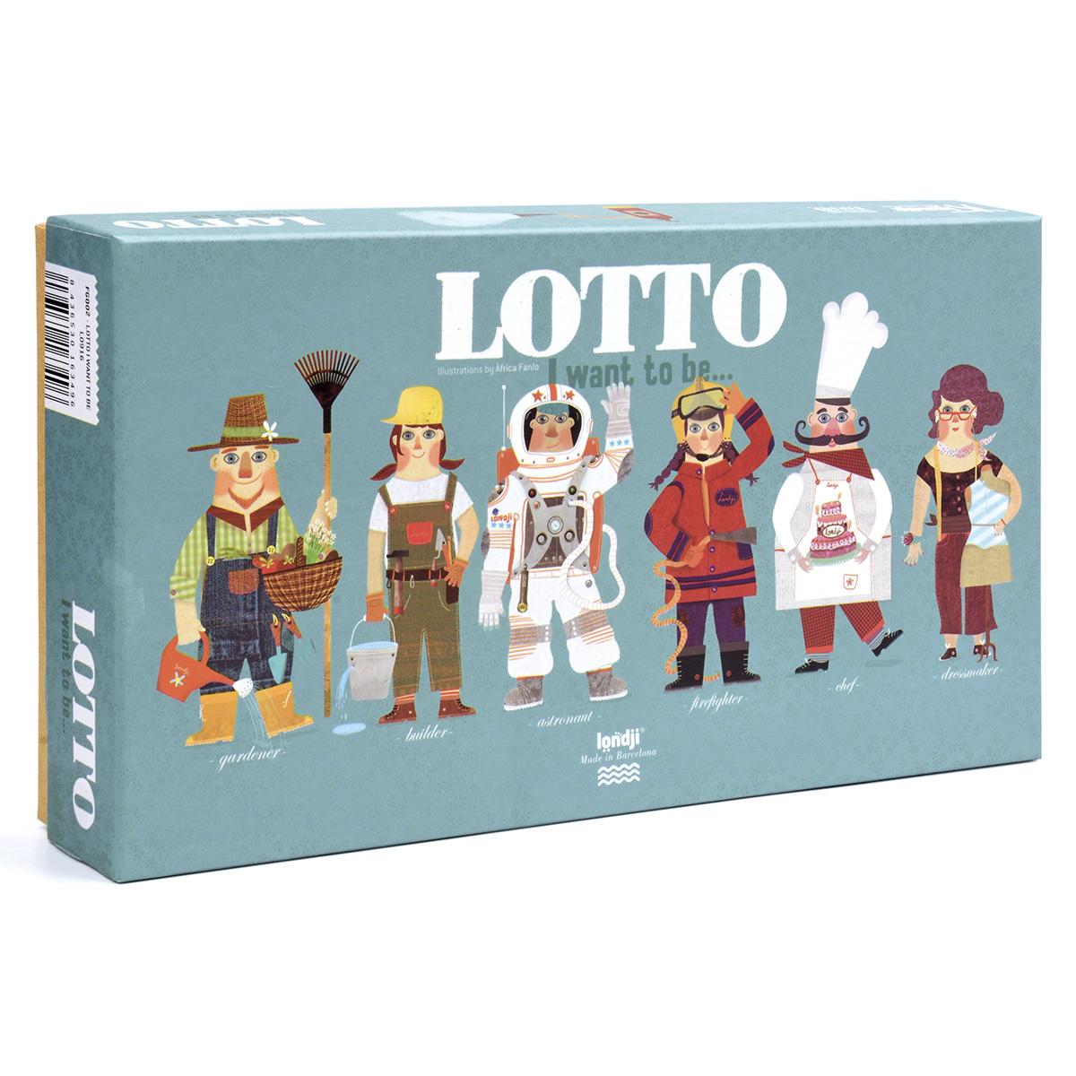Mes premiers jouets Loto - Quand Je Serai Grand Je Serai... Loto - Quand Je Serai Grand Je Serai...