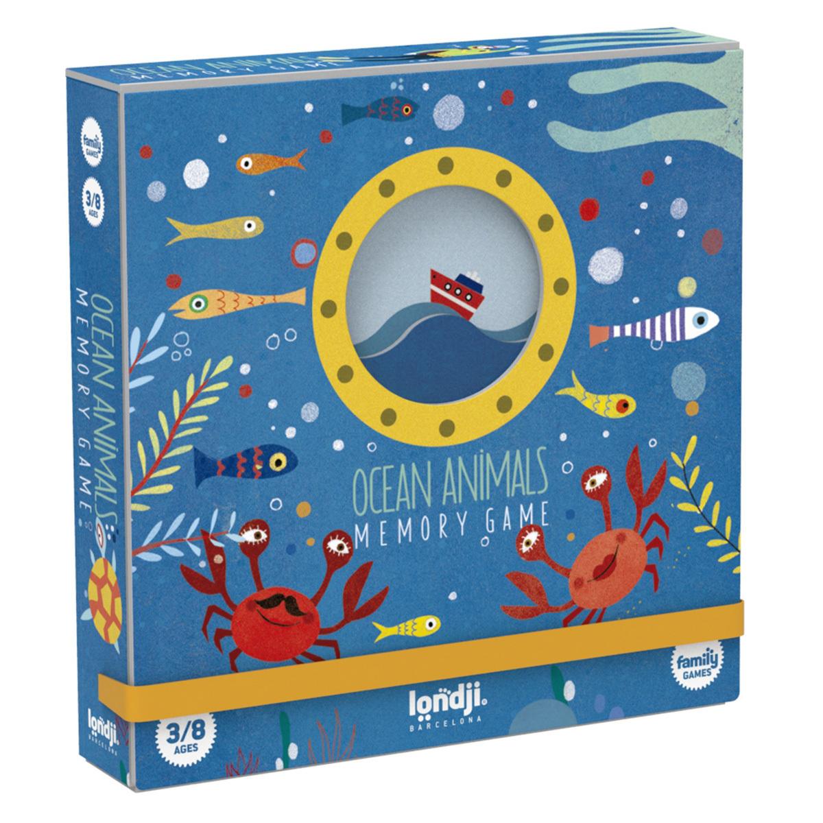 Mes premiers jouets Jeu de Mémo - Les Animaux des Océans Jeu de Mémo - Les Animaux des Océans