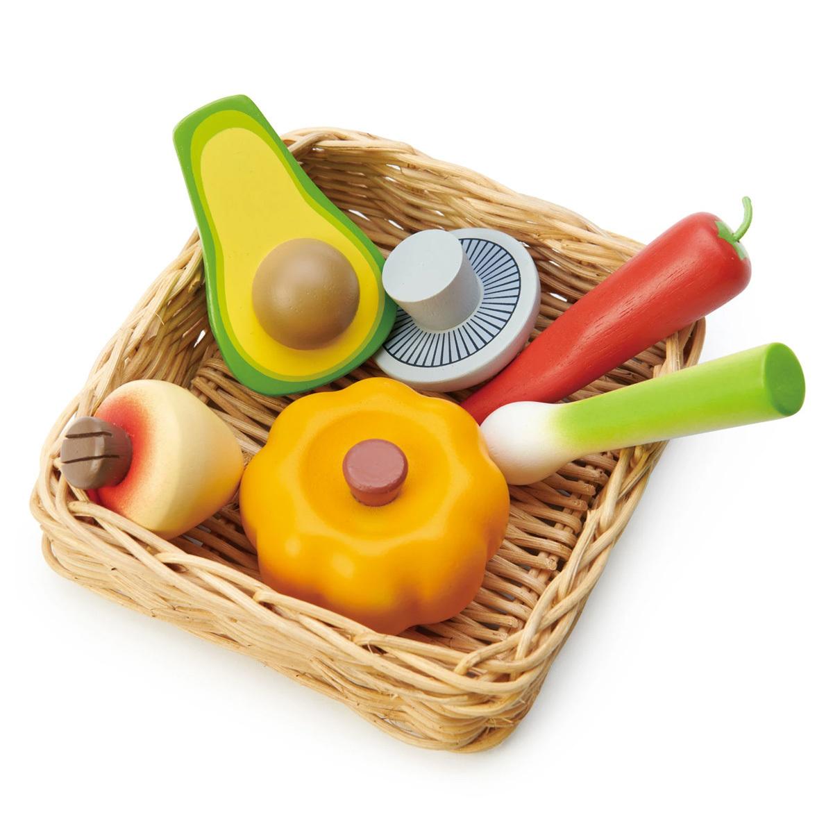 Mes premiers jouets Le Panier du Marché - Légumes Le Panier du Marché - Légumes