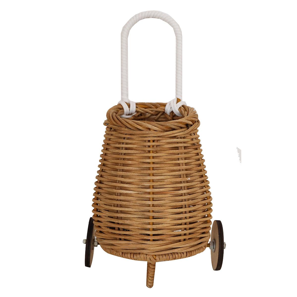 Mes premiers jouets Panier pour Poupée en Rotin Luggy - Naturel Panier pour Poupée en Rotin Luggy - Naturel