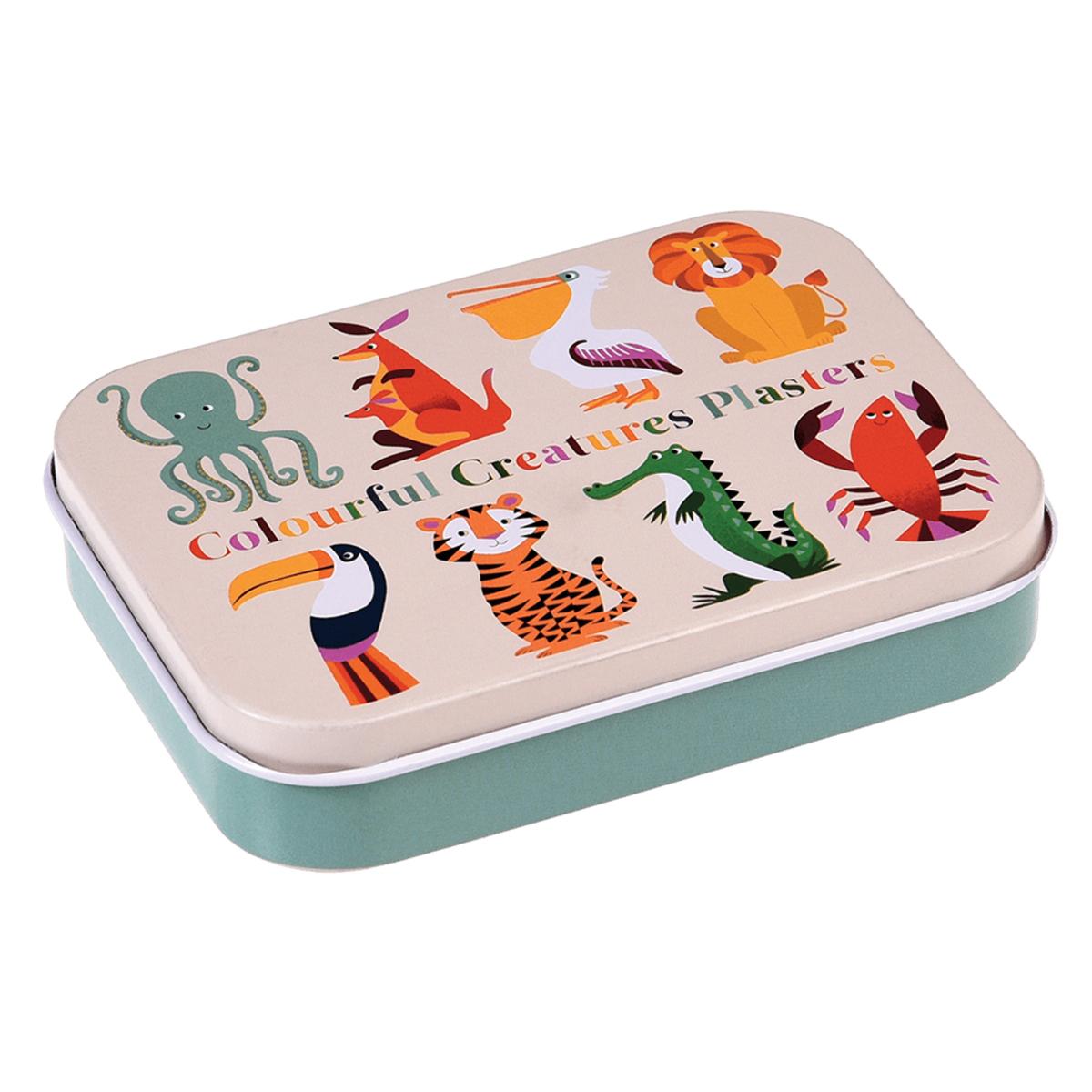 Soins enfant Boîte de Pansements - Colourful Creatures Boîte de Pansements - Colourful Creatures