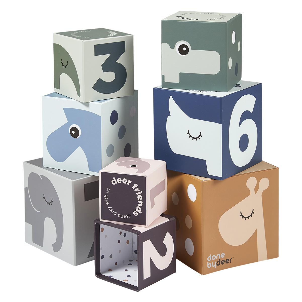 Mes premiers jouets Cubes à Empiler Deer Friends Cubes à Empiler Deer Friends