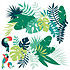 Lilipinso Tropica - Stickers XL - Feuilles Tropicales