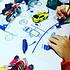 Acheter Vaisselle & Couvert Set de Table à Colorier et ses 5 feutres - Dans l'espace