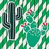 Avis Anniversaire & Fête Lot de 12 Pailles Cactus