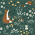 Lilipinso Papier Peint - Motif Animaux de la Forêt