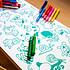 Acheter Omy Rouleau Décoratif Coloriable Stick-it - Animals