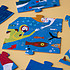 Mes premiers jouets Londji Puzzle Ma Grosse Baleine Bleue