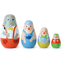 Achat Mes premiers jouets Poupées gigognes Trois petits cochons