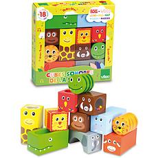 Achat Mes premiers jouets Cubes sonores Animaux de la Savane
