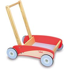 Achat Trotteur & Porteur Chariot de marche rouge