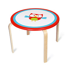 Achat Table & Chaise Table Ronde Lou le Hibou