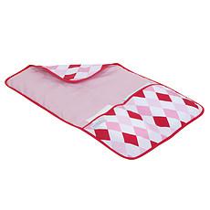 Achat Matelas et housse à langer Matelas à langer de voyage 60 x 36 cm Lozenge pink & red