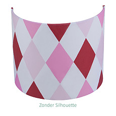Achat Suspension  décorative Applique 24 x 20 cm - Lozenge Rouge / Rose