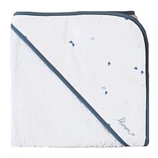 Achat Linge & Sortie de bain Serviette Blanc Bleu BLUE FLIGHT