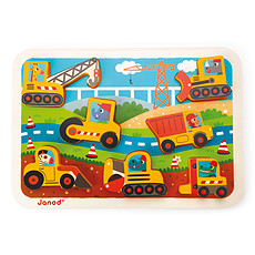 Achat Mes premiers jouets Chunky Puzzle Véhicules Chantier