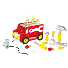 Achat Mes premiers jouets Camion à tirer Bricolo Redmaster