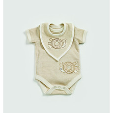 Achat OUTLET Body + Bavoirs à rayures 3-6M Spots & Stripped