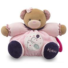 Achat Peluche Peluche Ballon Patapouf Ours - Petite Rose