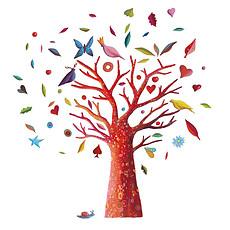 Achat Sticker Stickers Muraux L'arbre à poèmes - Frida