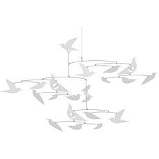 Achat Mobile Mobile papier Oiseaux Blancs - Fleur
