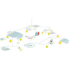 Achat Mobile Mobile papier La tête dans les nuages - Céleste